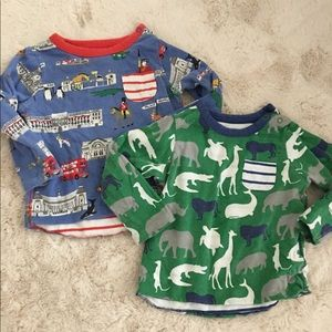 Mini Boden / Baby Boden Reversible shirts